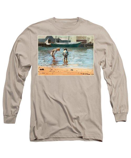 Boys Wading Long Sleeve T-Shirt