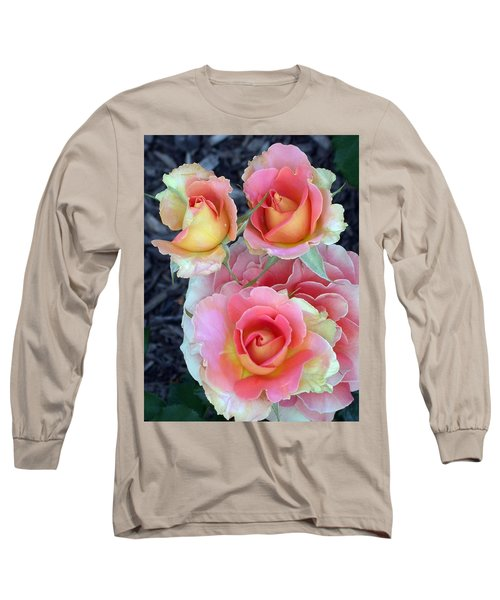 Brass Band Roses Long Sleeve T-Shirt