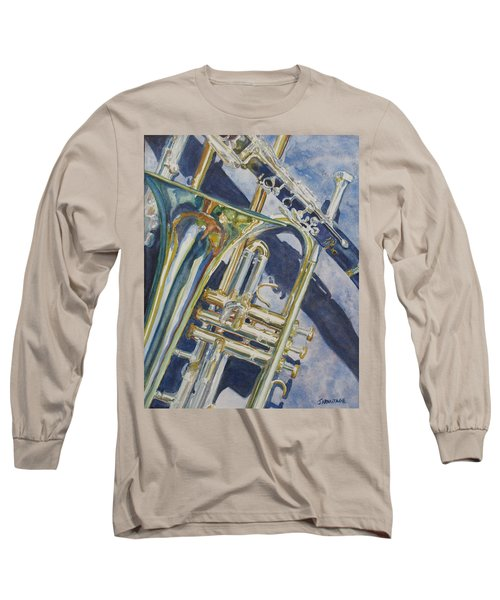 Brass Winds And Shadow Long Sleeve T-Shirt