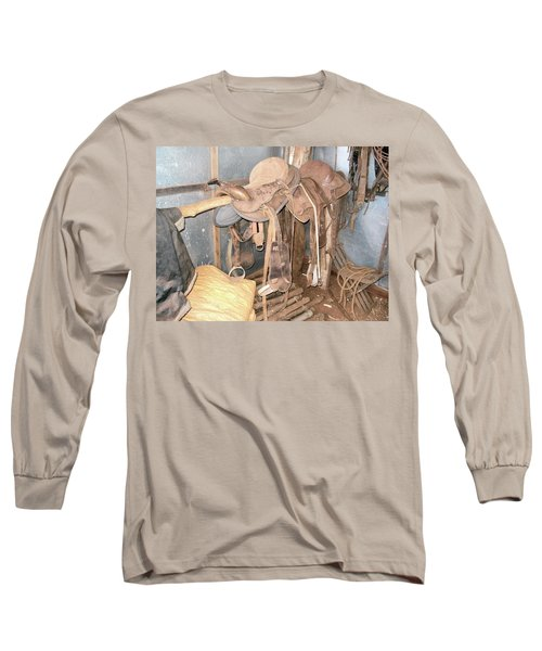 Long Sleeve T-Shirt featuring the photograph Brazilian Cowboy Clothes by Beto Machado