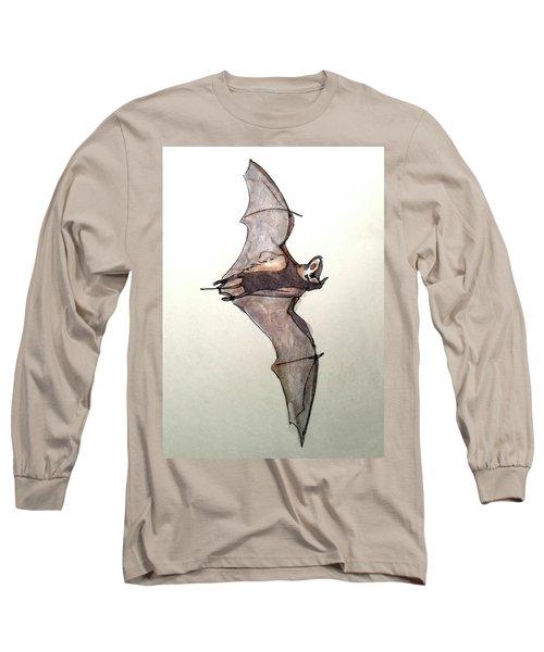 Brazilian Free-tailed Bat Long Sleeve T-Shirt