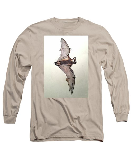 Brazilian Free-tailed Bat Long Sleeve T-Shirt