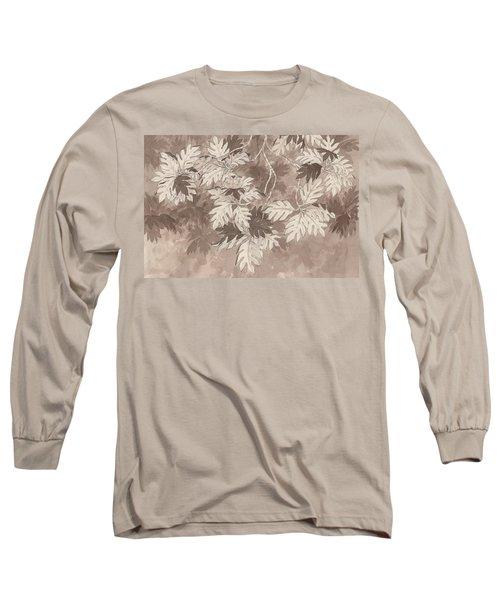 Breadfruit Tree Long Sleeve T-Shirt