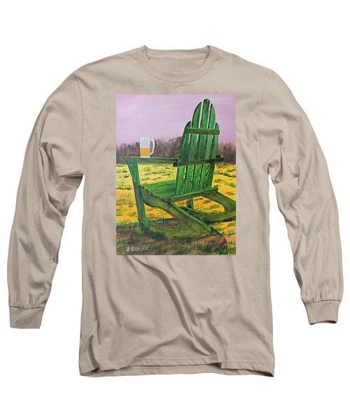 Break Time Long Sleeve T-Shirt by Jack G  Brauer