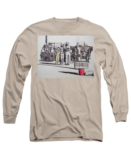 Breakdance San Francisco Long Sleeve T-Shirt