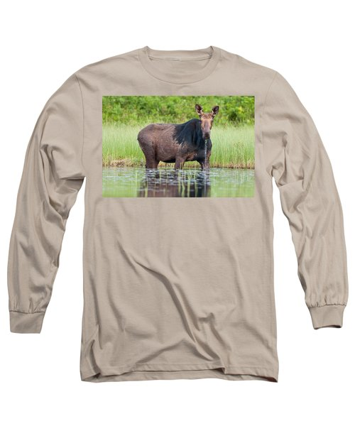 Breakfast At Mooshead Long Sleeve T-Shirt