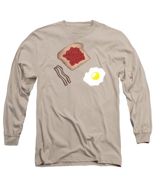 Breakfast - Food Art Long Sleeve T-Shirt