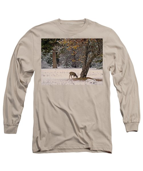 Long Sleeve T-Shirt featuring the photograph Breakfast Time by Walter Fahmy