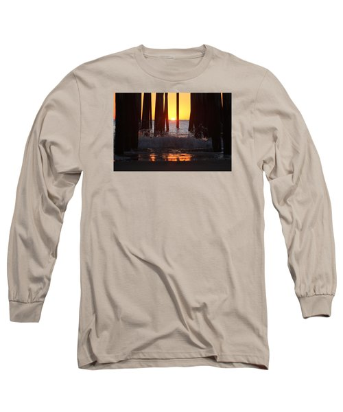 Breaking Dawn At The Pier Long Sleeve T-Shirt