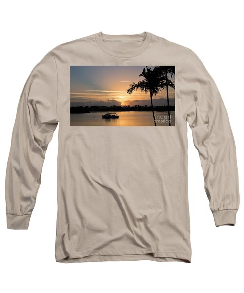 Breaking Through Long Sleeve T-Shirt by Pamela Blizzard