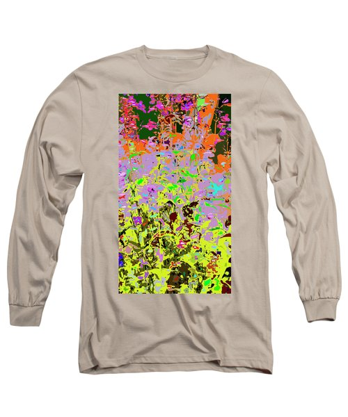 Breathing Color Long Sleeve T-Shirt