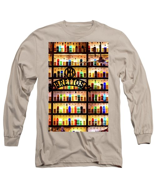 Brettos Bar In Athens, Greece - The Oldest Distillery In Athens Long Sleeve T-Shirt