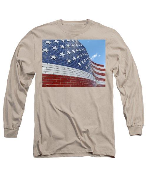 Brick Flag Long Sleeve T-Shirt