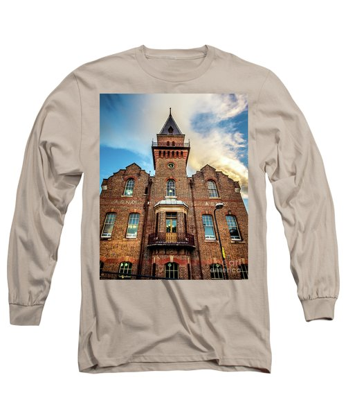 Long Sleeve T-Shirt featuring the photograph Brick Tower by Perry Webster
