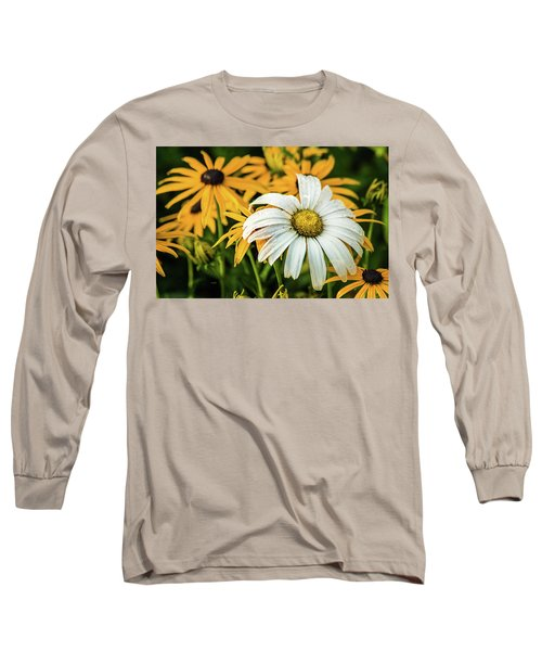 Long Sleeve T-Shirt featuring the photograph Bride And Bridesmaids by Bill Pevlor