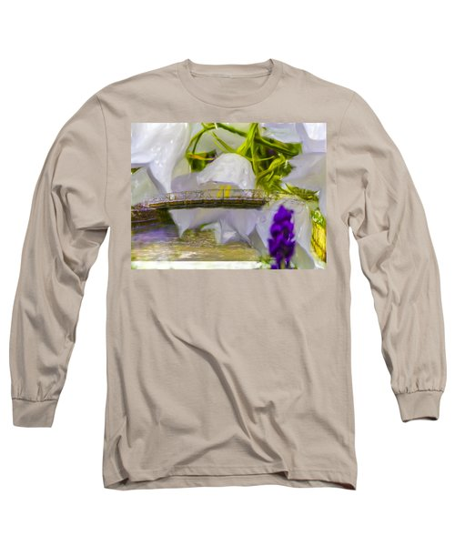 Bridge Flower.  Long Sleeve T-Shirt