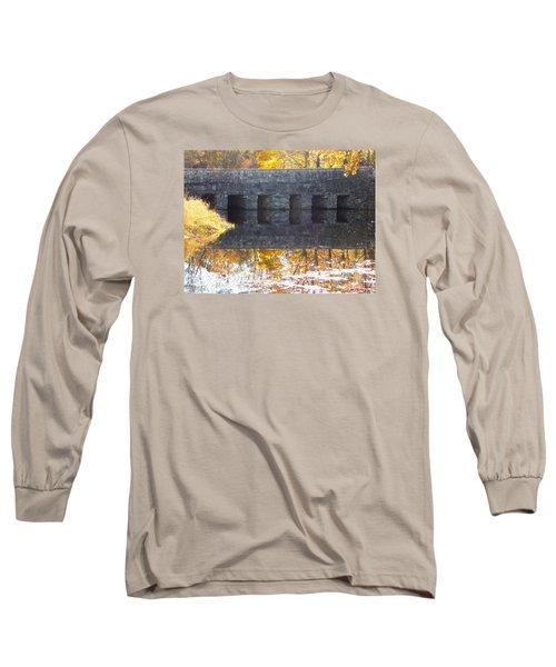 Bridges Reflection Long Sleeve T-Shirt by Catherine Gagne