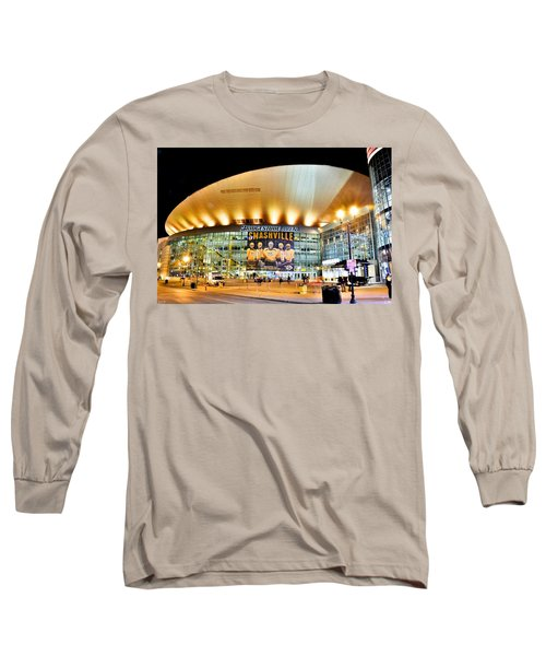 Bridgestone Arena Long Sleeve T-Shirt