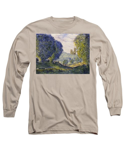 Bridlington Priory From Woldgate Long Sleeve T-Shirt