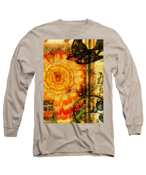 Bright Life Encaustic Long Sleeve T-Shirt by Bellesouth Studio