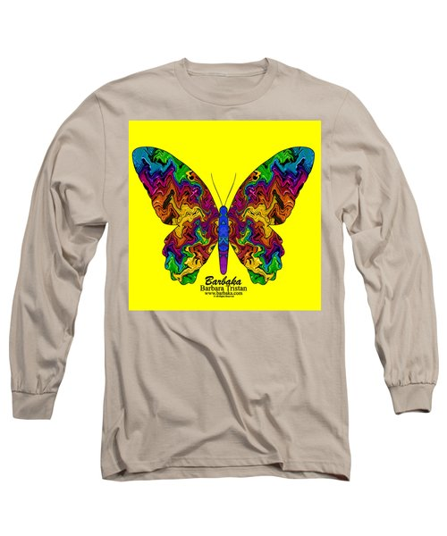 Bright Transformation Long Sleeve T-Shirt by Barbara Tristan