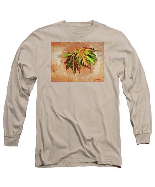 Brilliant Is The Color Of Autumn  Long Sleeve T-Shirt by Talisa Hartley