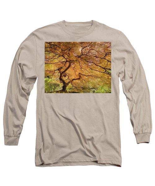 Brilliant Japanese Maple Long Sleeve T-Shirt