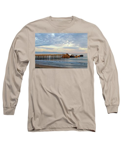 Broken Boat, Ss Palo Alto Long Sleeve T-Shirt by Amelia Racca