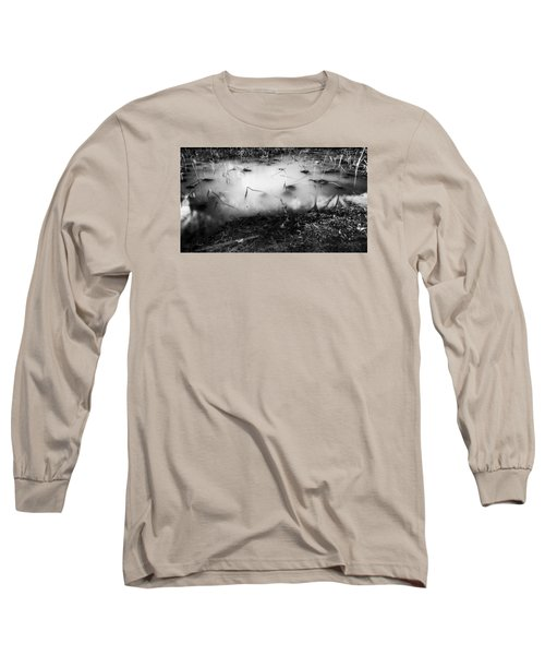 Broken Long Sleeve T-Shirt by Hayato Matsumoto