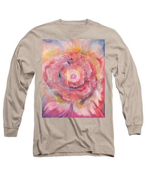 Broken Spirit Rose Long Sleeve T-Shirt