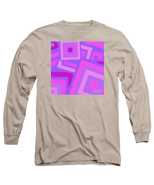 Broken Squares Long Sleeve T-Shirt