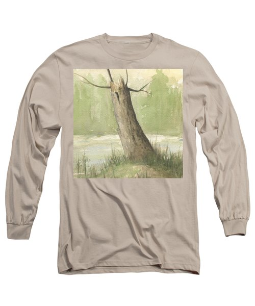 Broken Tree Long Sleeve T-Shirt