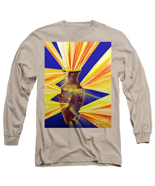 Broken Vessel Long Sleeve T-Shirt