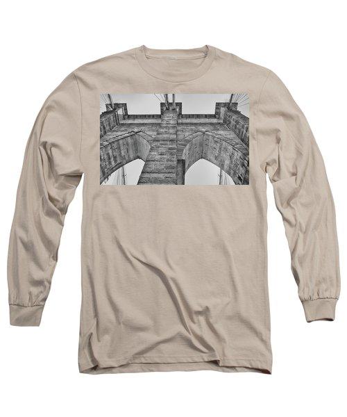 Brooklyn Bridge Tower Long Sleeve T-Shirt