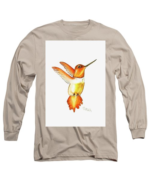 Brown Hummer Long Sleeve T-Shirt