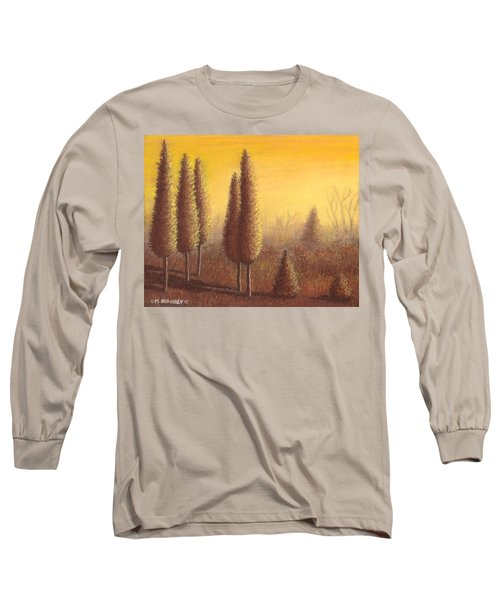 Brown Trees 01 Long Sleeve T-Shirt