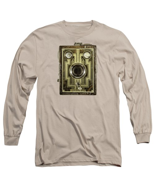Brownie Six-20 Front Long Sleeve T-Shirt by YoPedro