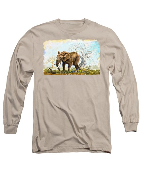 Browsing In The Bushes Long Sleeve T-Shirt