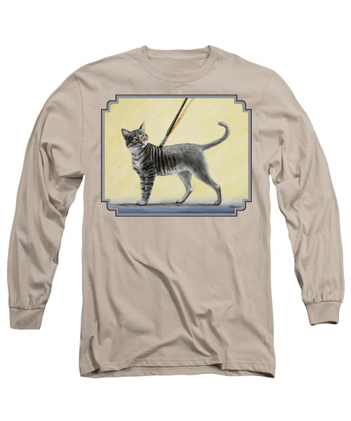 Brushing The Cat - No. 2 Long Sleeve T-Shirt