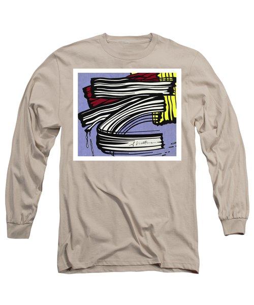 Brushstroke -1965 Long Sleeve T-Shirt
