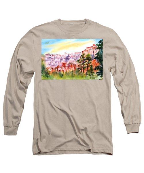Bryce Canyon #3 Long Sleeve T-Shirt by Betty M M Wong