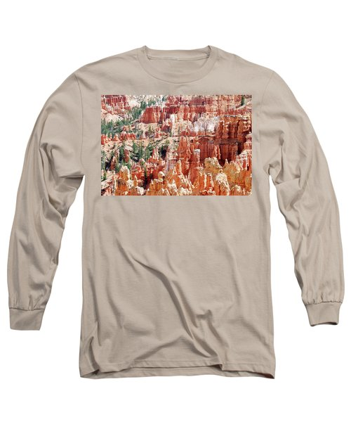 Bryce Canyon Hoodoos Long Sleeve T-Shirt by Nancy Landry