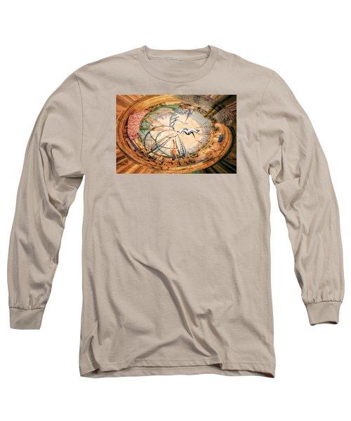 Bubble Gum Round Long Sleeve T-Shirt