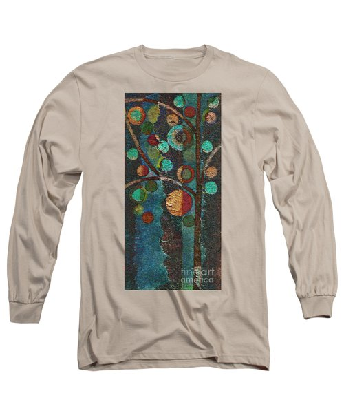 Bubble Tree - Spc02bt05 - Left Long Sleeve T-Shirt by Variance Collections