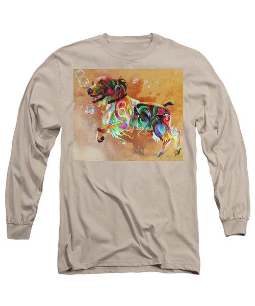 Bubbles  English Springer Long Sleeve T-Shirt