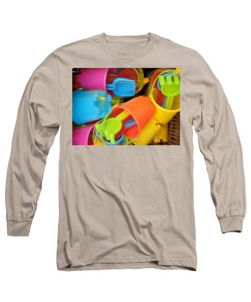 Buckets And Spades Long Sleeve T-Shirt