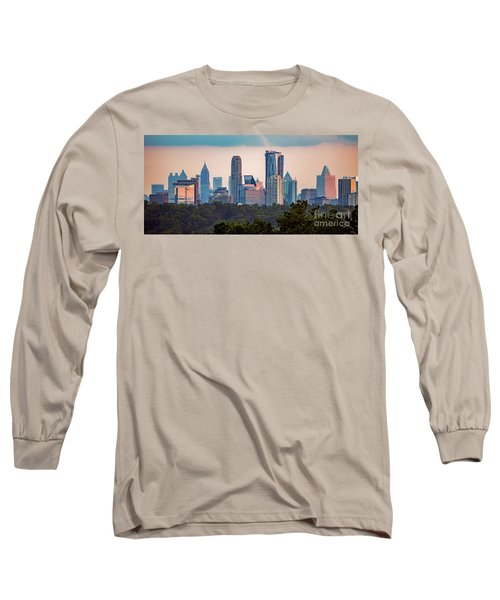 Buckhead Atlanta Skyline Long Sleeve T-Shirt