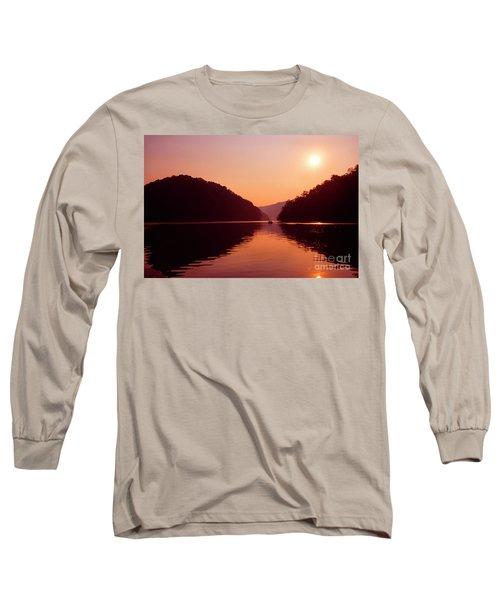 Long Sleeve T-Shirt featuring the photograph Buckhorn Lake Sunset by Thomas R Fletcher