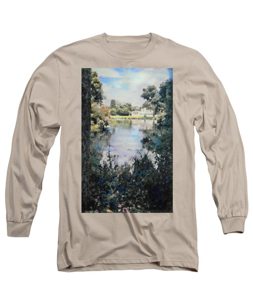 Buckingham Palace Garden - No One Long Sleeve T-Shirt by Richard James Digance