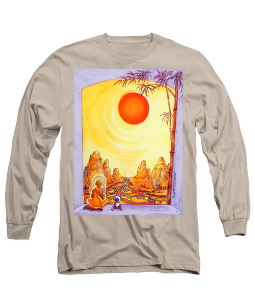 Buddha Meditation Long Sleeve T-Shirt